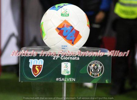 SALERNITANA- VENEZIA 2-0 – #notizieirno.it#